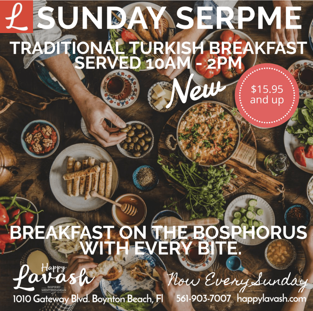 Presenting: Sunday Serpme – Traditional Turkish Breakfast